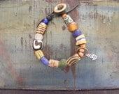 Take 20% OFF TREASURY LIST Hand Talisman African Trade Bead Bracelet