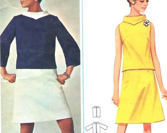 Butterick 4400 sewing pattern // Quick 'N Easy Two Piece Dress