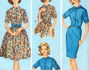Simplicity 5059 sewing pattern // Teens' and Juniors' One Piece Dress With Two Skirts // A How To Sew Pattern