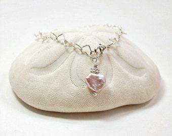 Silver Heart  Bracelet . Bestseller