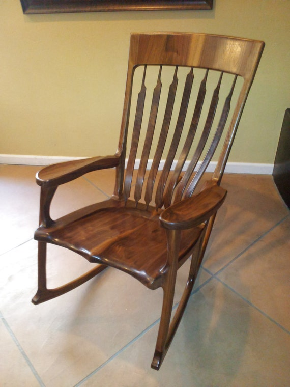 Hand-Crafted Rocking Chairs by Thomas O'Meara