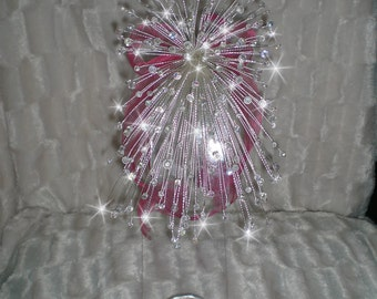 Swarovski elements Crystal bouquet Wedding bridal flowers