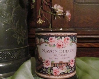 Small French Perfume Label one