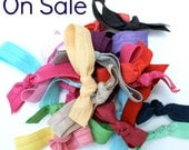 50 Hair Ties - FREE SHIPPING - Hair Tie Gift Set - Girls DIY Party Favors - Bulk Kids Party Favors - Diy Goodie Bag - Hair Tie Sale