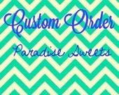 CUSTOM ORDER for HEATHER - Custom Sugar Cookies