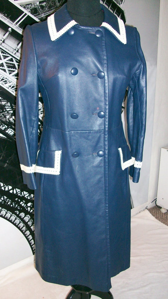 Reserve  for GP mod long coat trim  double breasted and lined