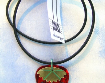 Pluck Strawberry Necklace