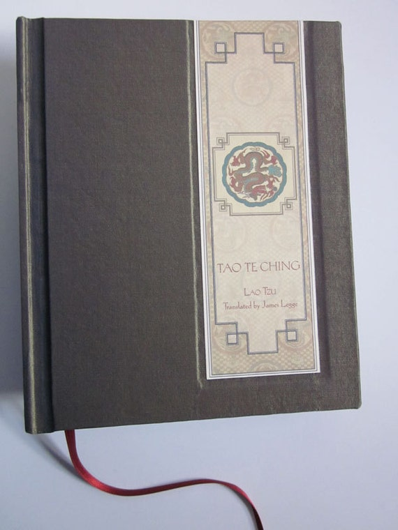 Tao Te Ching, a limited edition, handmade book