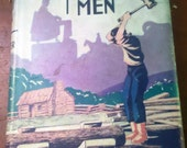 Vintage Father's Day Gift /  Hardcover  Book Boys Stories of Great Men 1931