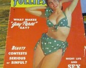 Vintage Magazine Picture Follies Magazine Retro Advertisement Mixed Media Supplies March 1952 & May 1952