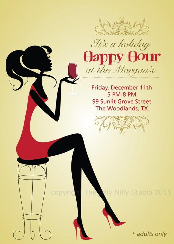 happy hour invitation template