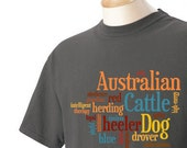 Australian Cattle Dog Garment Dyed Cotton T-shirt