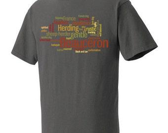 Beauceron Garment Dyed Cotton T-shirt
