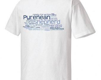 Pyrenean Shepherd Garment Dyed Cotton T-shirt