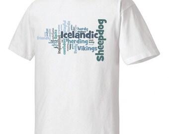 Icelandic Sheepdog Garment Dyed Cotton T-shirt