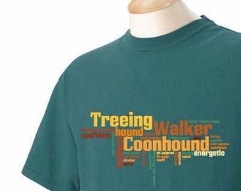 Treeing Walker Coonhound Garment Dyed Cotton T-shirt