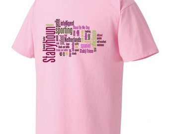 Stabyhoun Comfort Colors Cotton T-shirt