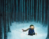 Quiet Forest, giclée print
