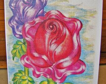 2 Roses Greeting Card