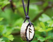 Birth Rune Pendant, Ansuz 3rd August 29th August.