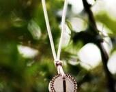 Birth Rune Pendant 'Isa' 28th November to 13th December.