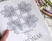 Mayfaire's Book of Mandalas Colorbook