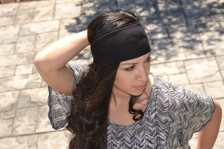 Black Soft Stretch Hair Wrap By JLeeJewels On Etsy