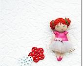 Cute Little Brooch - Little Ballerina
