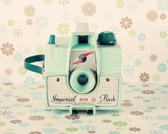 SALE, Camera print, camera art, rustic wall decor, retro art prints, retro print, imperial camera, film camera, neutral nursery decor,