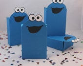 Cookie Monster Favor Box