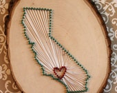 California Love String Art- Los Angeles