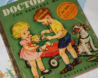 Doctor Dan The Bandage Man 1950 - Little Golden - A edition