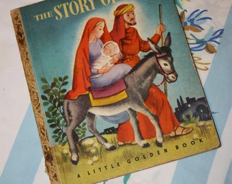 The Story Of Jesus 1946 Little Golden Book No. 27- G edition