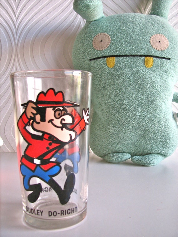 Vintage Dudley Do-Right Glass