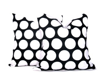 Black Pillow - Black Pillow Covers - Decorative Pillows - Throw Pillows - Throw Pillow covers - Throw Pillows - Pillow Covers for couch