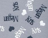 Custom Name Confetti