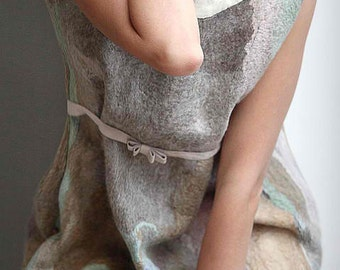 The Templater for the felted seemless dress Romantic You