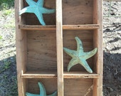 Cast Iron Starfish Shabby Chic Decor with Patina