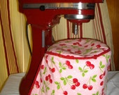 Stand mixer bowl cover/ cozy, 5 or 6 quart bowl, Made to Order