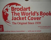 BRODART Archival Bookcover Film: For Collectors - NEW Large ROLL