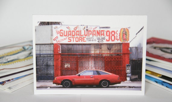 Guadalupe Street Art Photo Greeting Cards