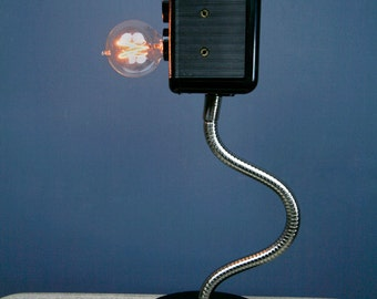 Handmade Camera Lamp with Built in Touch Dimmer