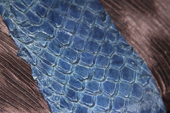 how to make fish skin leather