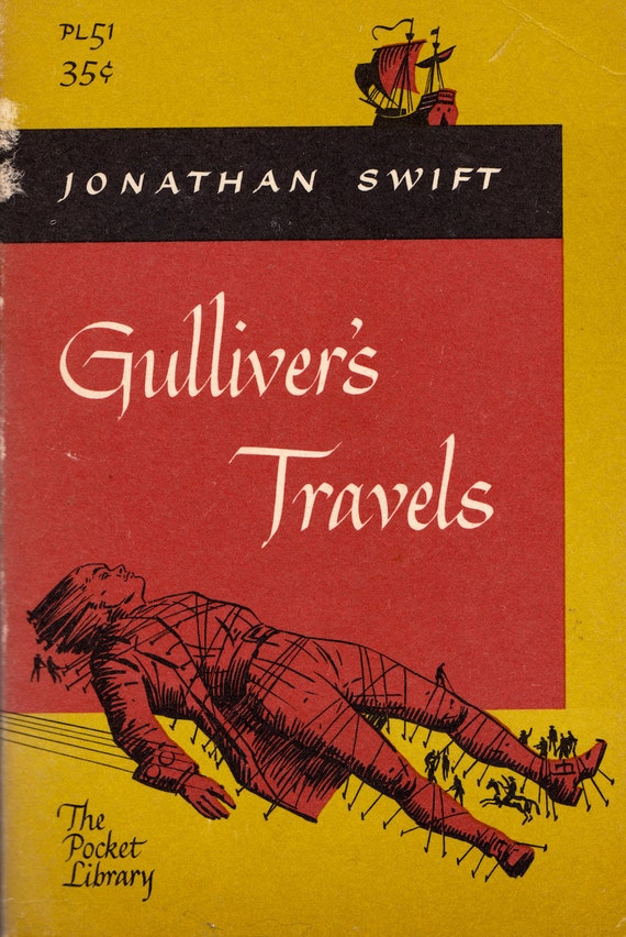 review of jonathan swifts gullivers travel Gulliver's travels, by jonathan swift  on the eve of a new movie release based on gulliver's travels i was asked to review since reading gulliver's travel.