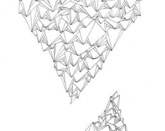 Systemic 5 - original ink drawing