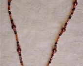Copper Filagree and Bronze Pearls