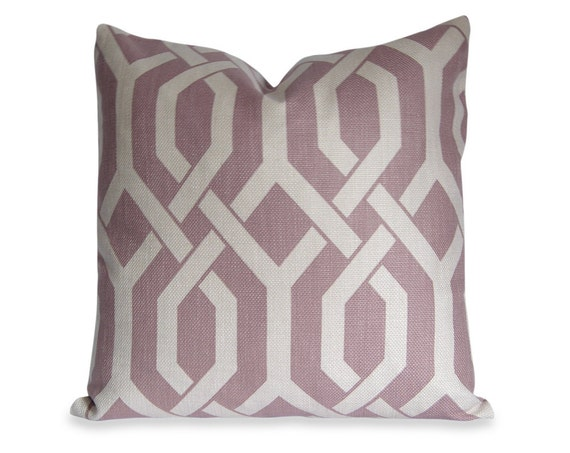 Items similar to trellis decorative pillow cover in for Amethyst throw pillows