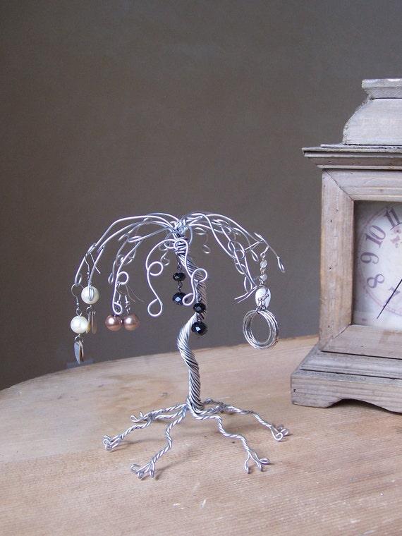 Jewelry Tree Earring Organizer and Display - Mini Willow Tree