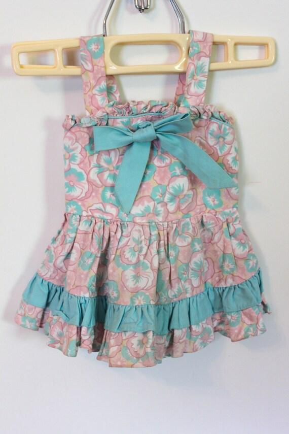 Vintage Baby Hipster Dress 12M