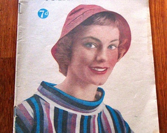 Vintage 1958 Australian Woman's Mirror Magazine
